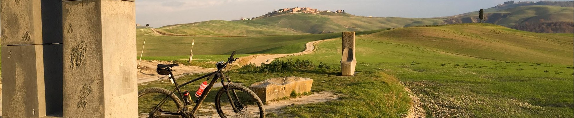 Self guided bike tours in Toscana